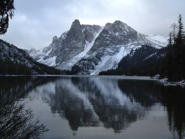 Green River Lakes Trailhead: Slide Lake and Natural Bridge