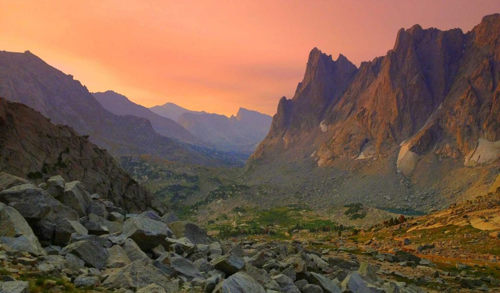 Warbonnet Sunset