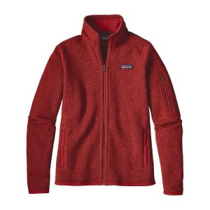PATAGONIA Women's Better Sweater Jacket in Ramble Red