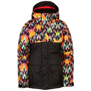 Polly Insulated Jacket-Kaleidoscope