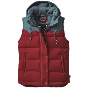 Bivy Down Vest-Drumfire Red