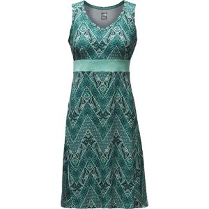 THE NORTH FACE Women's Getaway Dress in Agate Green Chevron Print