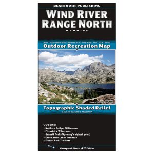 Wind River Range North Map