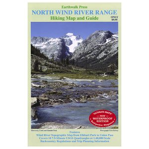 Earthwalk Press North Wind River Range Map