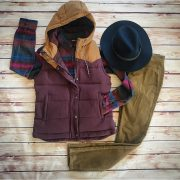 patagonia-womens-bivy-down-hooded-vest-patagonia-womens-long-sleeved-fjord-flannel-prana-womens-trinity-cord-pants-pistil-womens-soho-hat