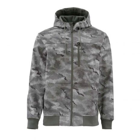 Simms Rogue Fleece Hoody - Hex Camo