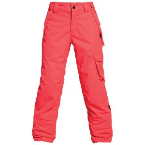 686-girls-agnes-insulated-pant-poppy-front