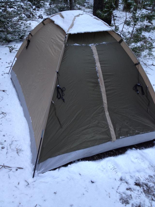 snowy-tent