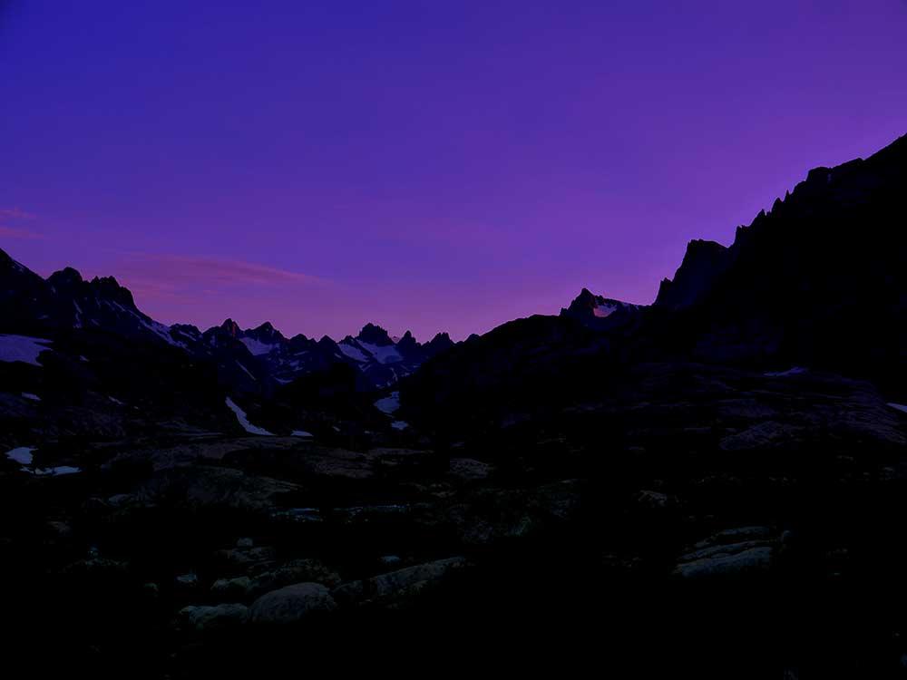 Indian Basin Sunset
