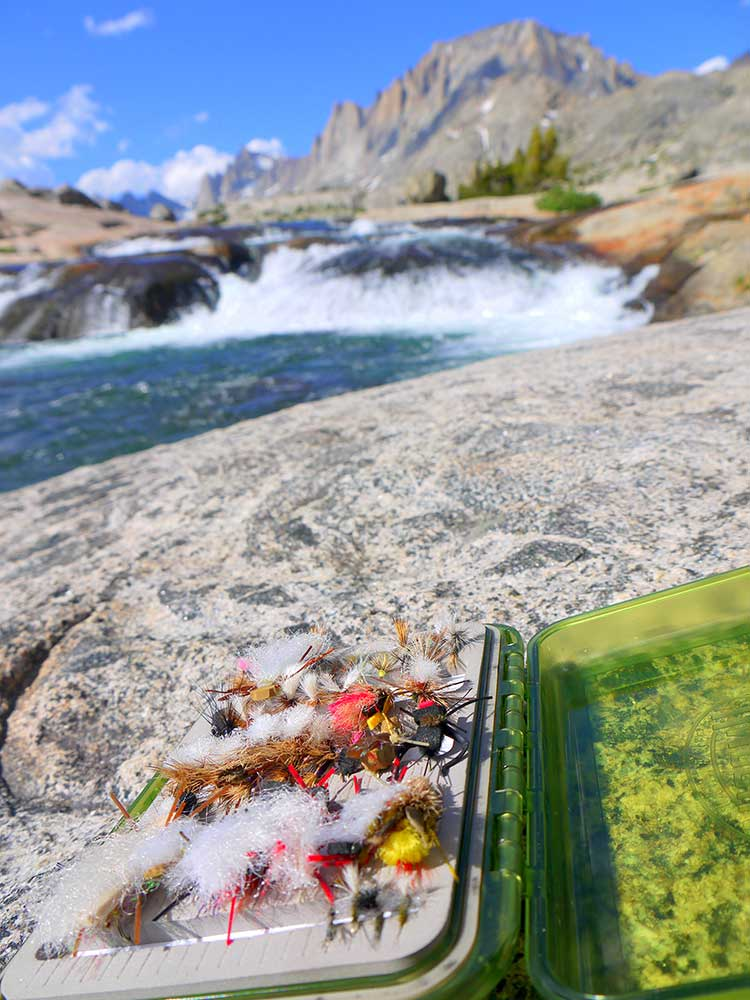 Fly-fishing Titcomb Basin