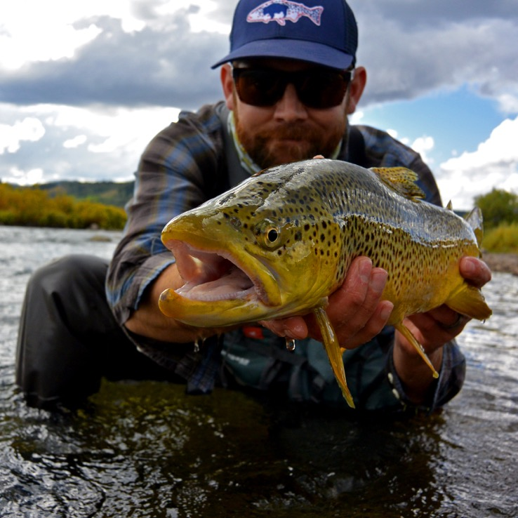 Fly fishing Green River - Pinedale, Wyoming