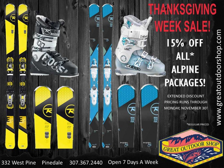 Thanksgiving Week Sale