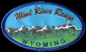 Wind River Range Patch - Blue