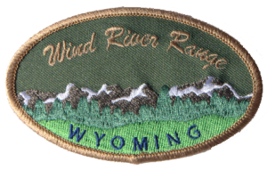 Wind River Range Patch - Khaki