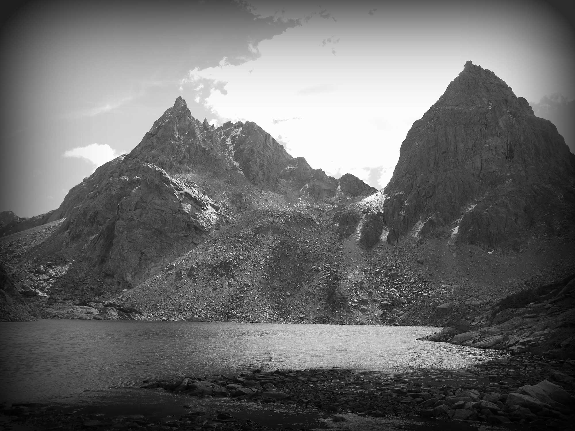 Stroud Peak and Peak Lake