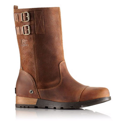 SOREL Women's Major Pull-On Boots in Grizzly Bear