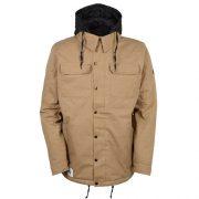 686 Men's Authentic Woodland Insulated Jacket Khaki Melange Front