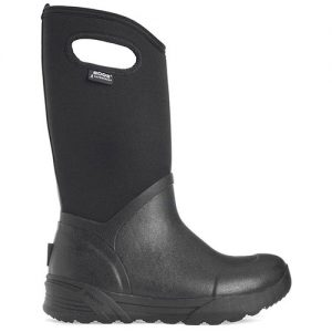 BOGS Men's Bozeman Tall Black Side