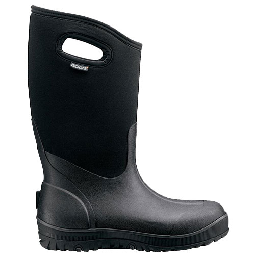 BOGS Men's Classic Ultra High Black Side