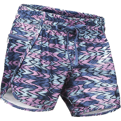 THE NORTH FACE Women's Class V Short in Coastal Fjord Blue Painted Ikat Print