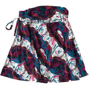 PATAGONIA Women's Lithia Convertible Skirt in Deep Sea Magenta