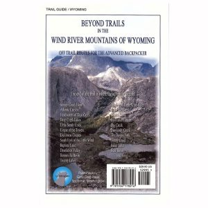 Beyond Trails in the Wind River Mountains - Back