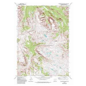 USGS 7.5 Minute Topographical Map