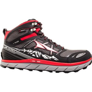 ALTRA Men's Lone Peak 3.0 NeoShell Mid Black Red Side