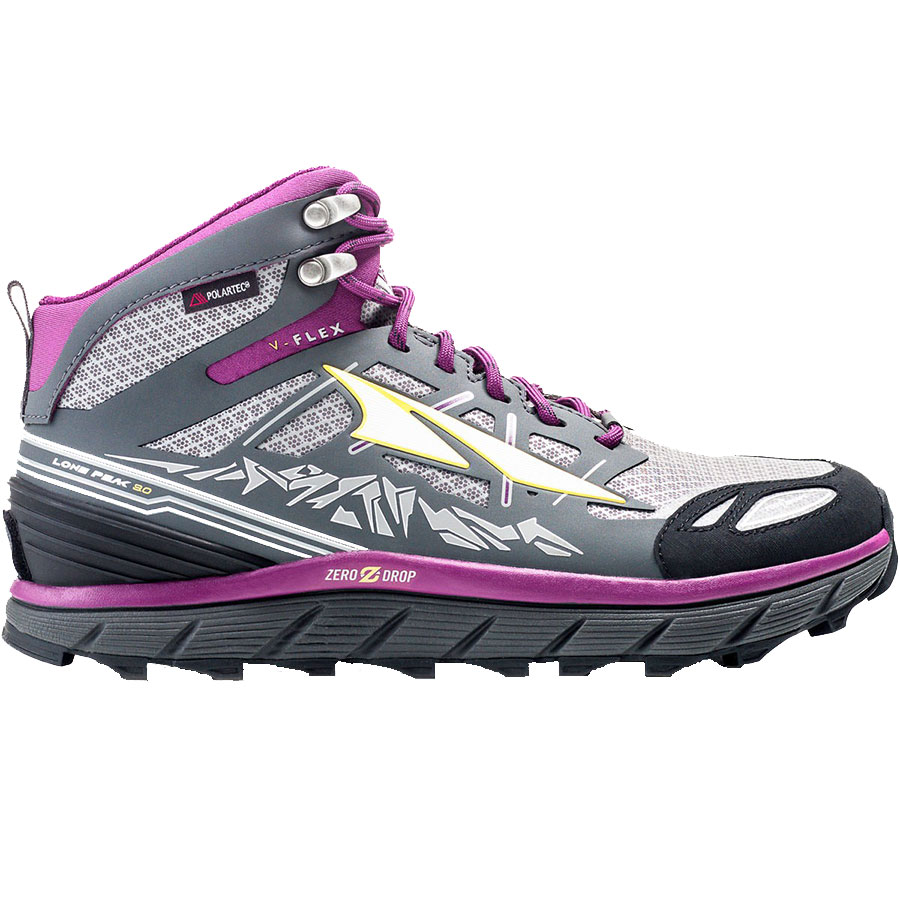ALTRA Women's Lone Peak 3.0 NeoShell Mid Purple Side