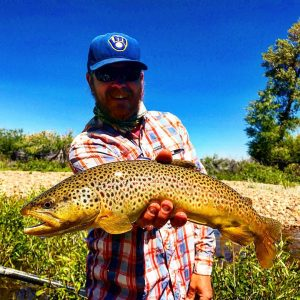 Andrew Brown Trout - New Fork River June 2017