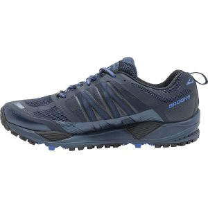 BROOKS Men's Cascadia 11 GTX Dress Blues Side2