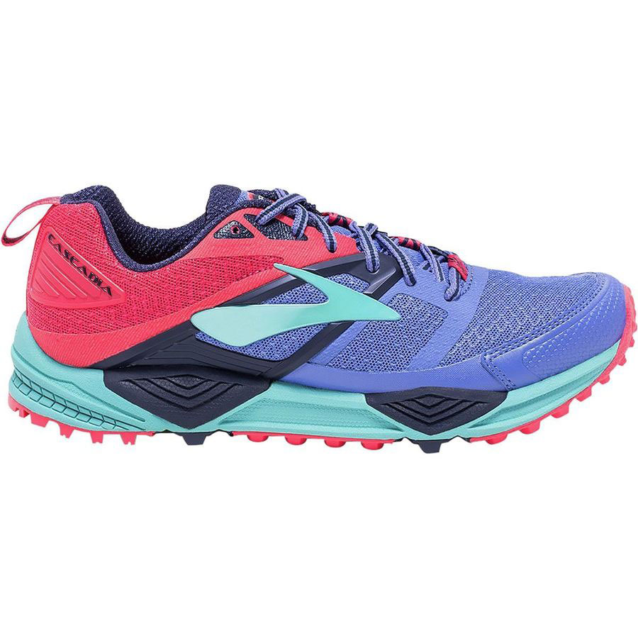 BROOKS Women's Cascadia 12 Baja Blue Side