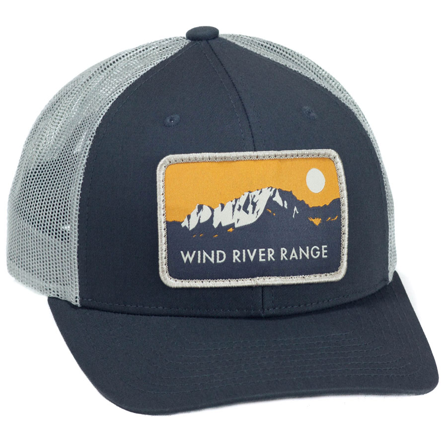 Fremont Trucker Charcoal/Gray Front