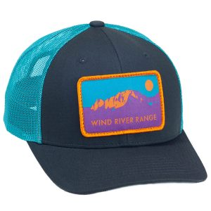 Fremont Trucker Charcoal/Teal Front