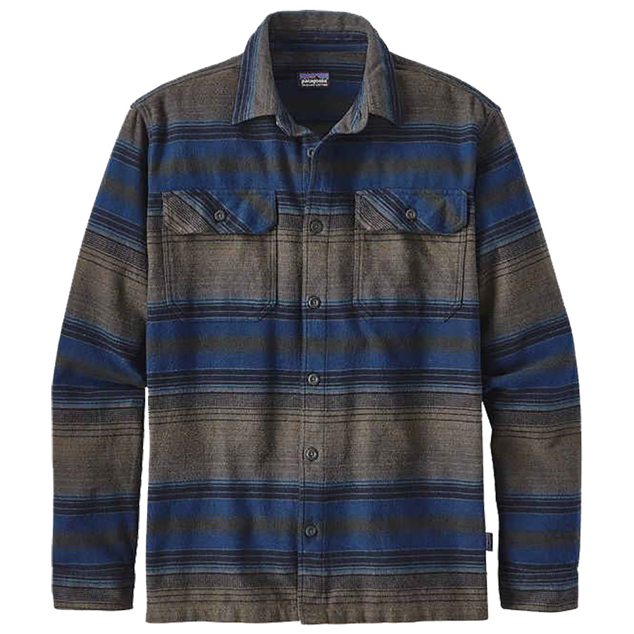 patagonia-mens-long-sleeved-fjord-flannel-blanket-stripe-navy-blue-front
