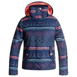 Roxy Girls' Jetty Insulated Jacket, Sodalite Blue