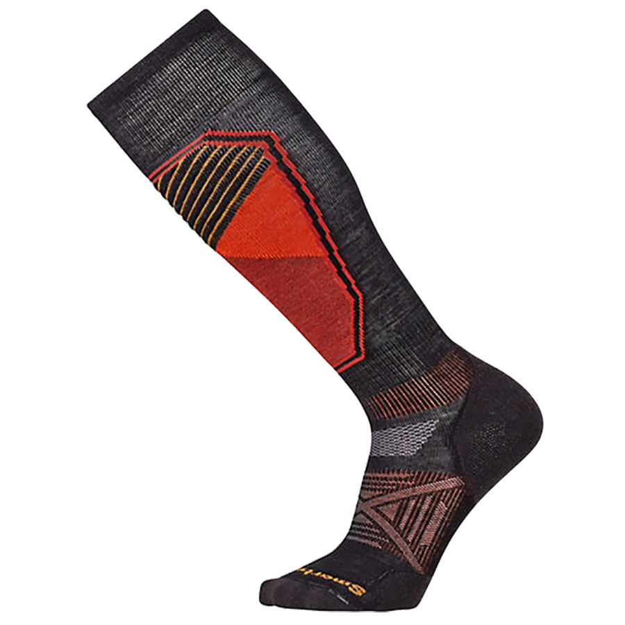 PhD Light Cushion Ski Socks - Black