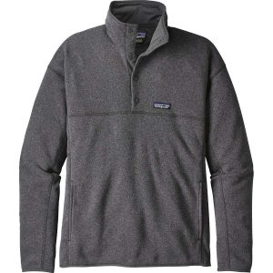 PATAGONIA Men's Lightweight Better Sweater Marsupial Pullover-Forge Gray