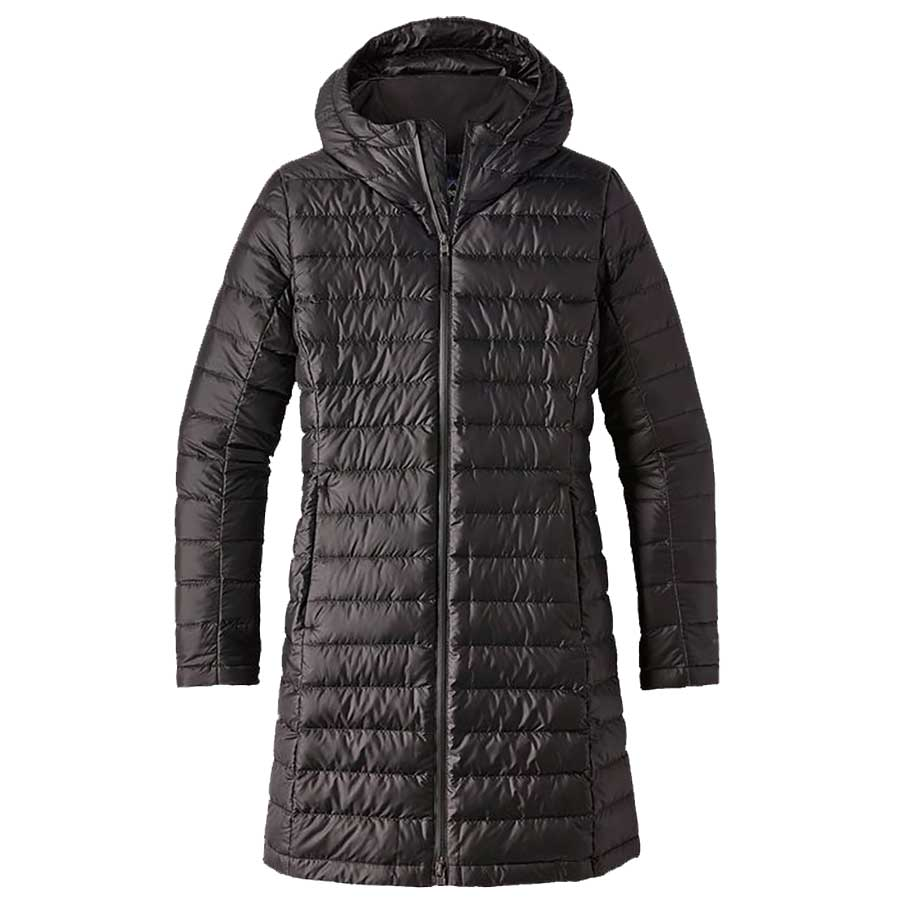PATAGONIA Women's Hooded Fiona Parka-Black