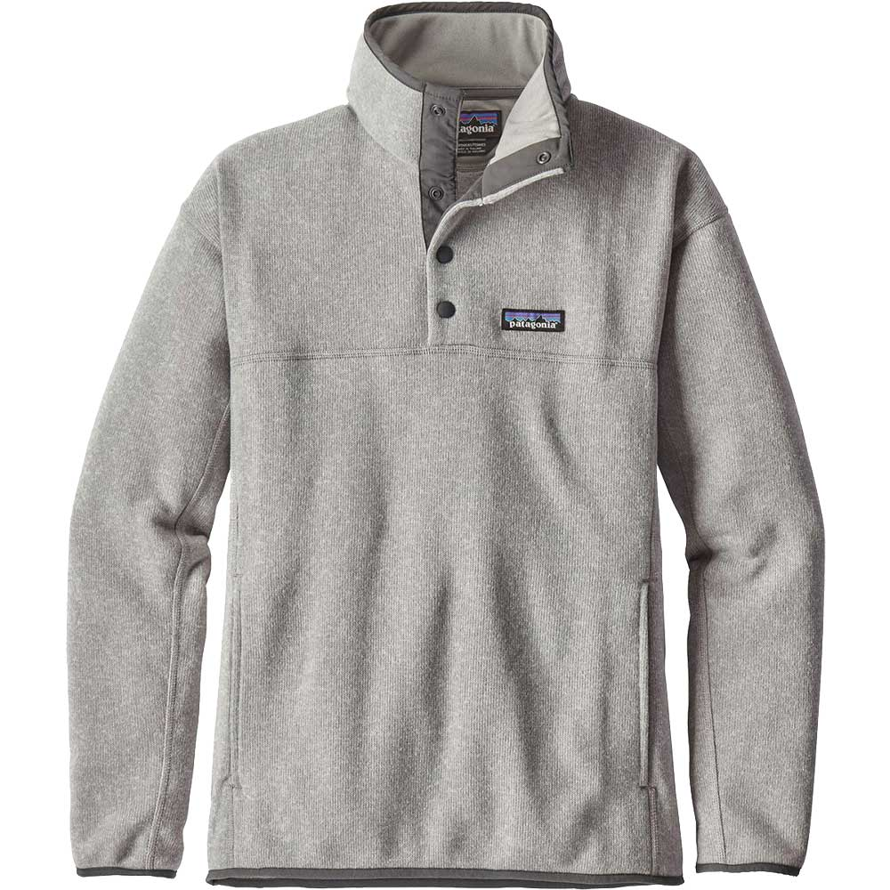 PATAGONIA Women's Lightweight Better Sweater Marsupial Pullover-Drifter Gray