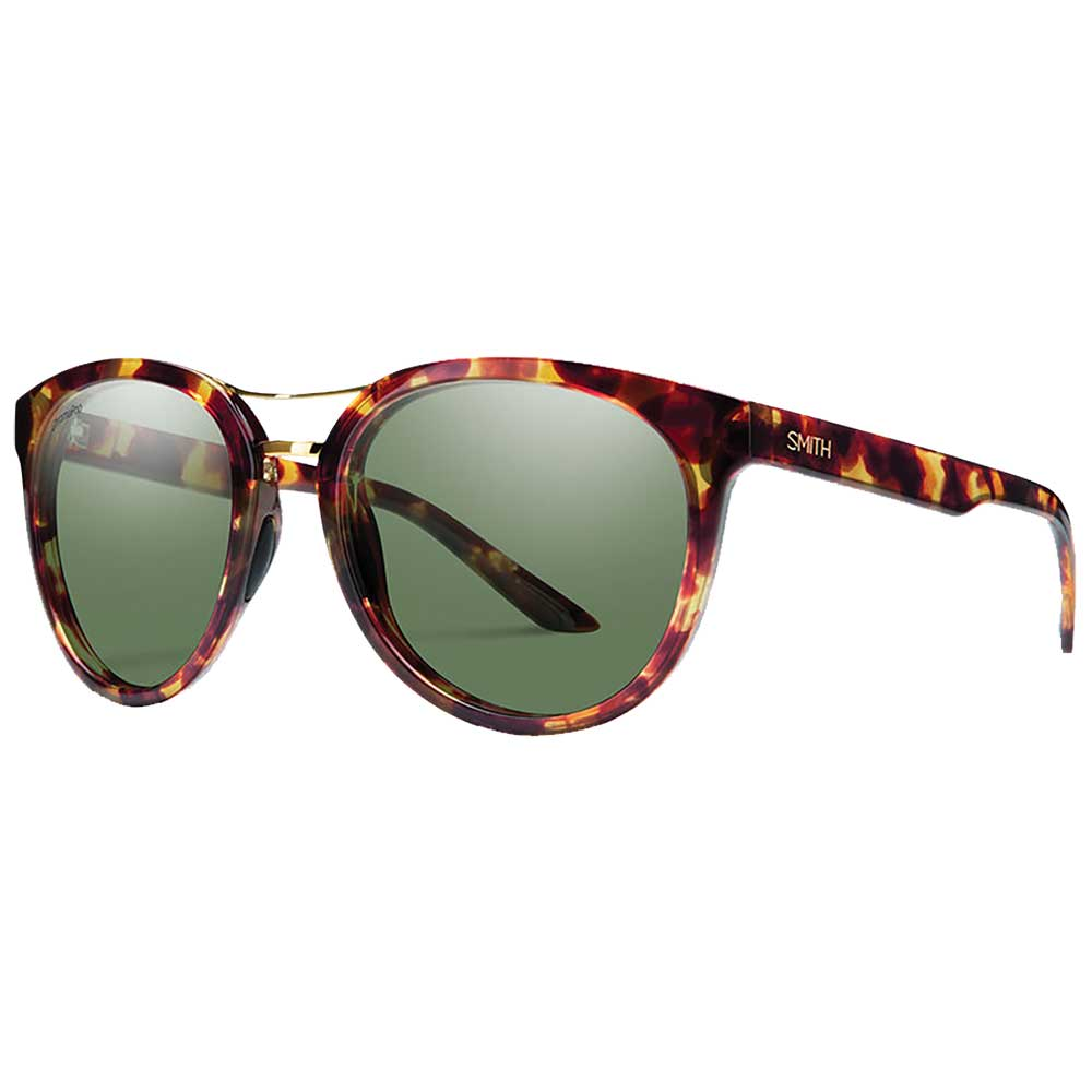 SMITH OPTICS Bridgetown-Black Havana Block Chromapop Gray Green