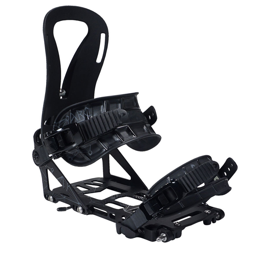 Spark R & D Arc Splitboard Bindings - 2017 Black Front