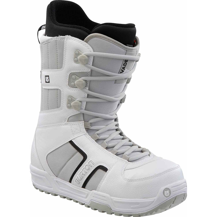 Burton Invader Snowboard Boot 2013 White Side