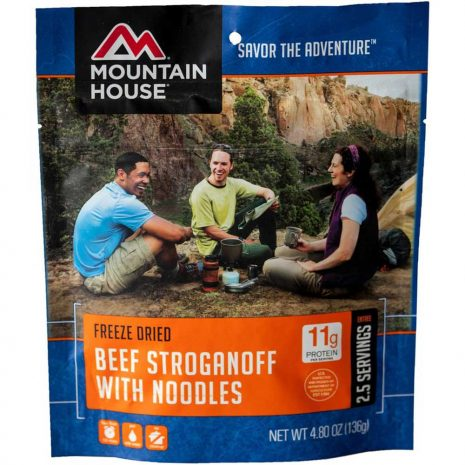 MOUNTAIN HOUSE Beef Stroganoff with Noodles Dehydrated Meal