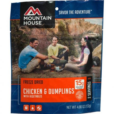 MOUNTAIN HOUSE Chicken and Dumplings Dehydrated Meal