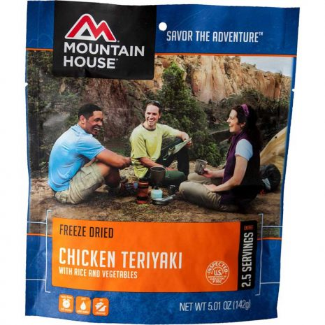 MOUNTAIN HOUSE Chicken Teriyaki with Rice Dehydrated Meal