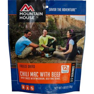 Mountain House Chili Mac w/ Beef Regular Front