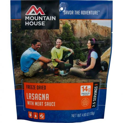 MOUNTAIN HOUSE Lasagna with Meat Sauce Dehydrated Meal