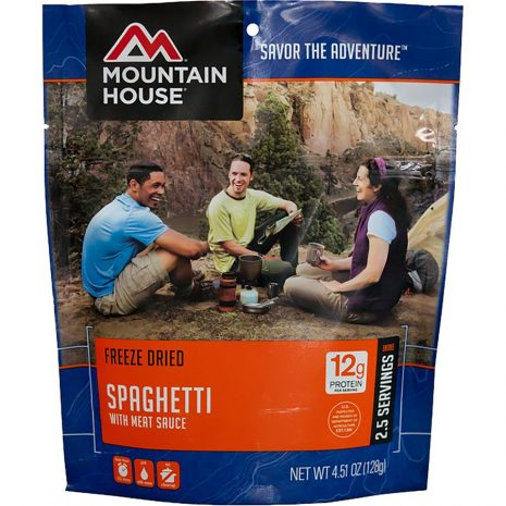 MOUNTAIN HOUSE Spaghetti with Meat Sauce Dehydrated Meal