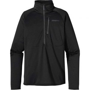 Patagonia Men's R1 Pullover Base Layer Black Front